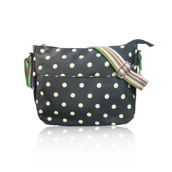 Emerald Polka Dot Small Bag
