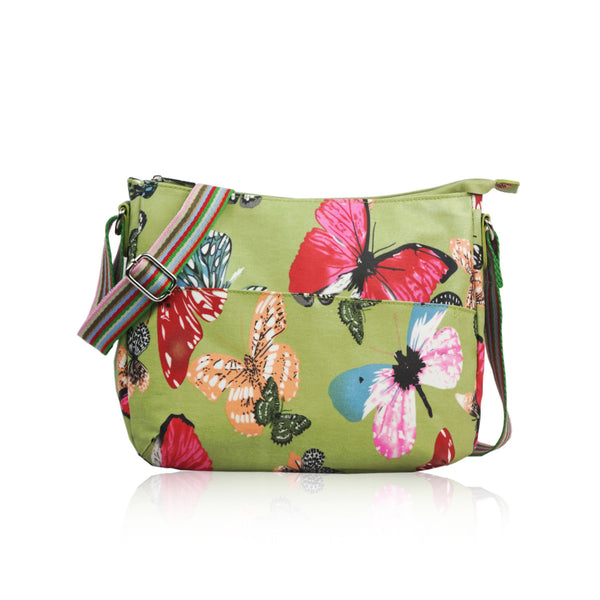 Green Butterfly Small Bag