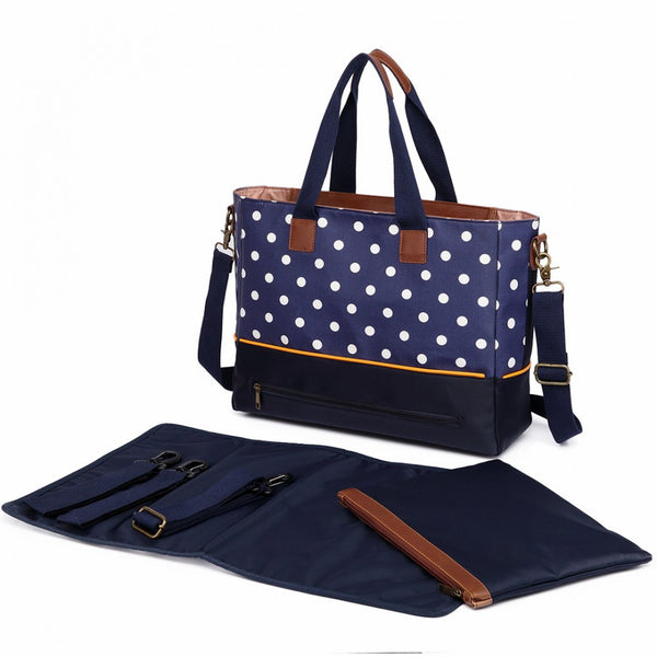 Stylist Polka Dot Changing Bags