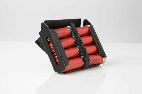 Ez8 Gen 2 Shotshell Carrier in Carbon Black with Tek Lok