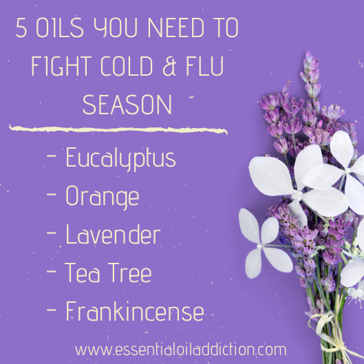5 Oils You Need to Fight Cold & Flu Season
