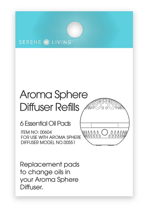Aroma Sphere Diffuser Pad Refills (For Aroma Sphere Diffuser)
