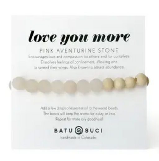 Love You More Diffuser Bracelet