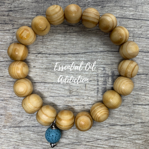 LOW-KEY Essential Oil Aromatherapy Bracelet