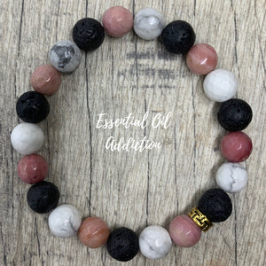 THE MONROE Essential Oil Aromatherapy Bracelet