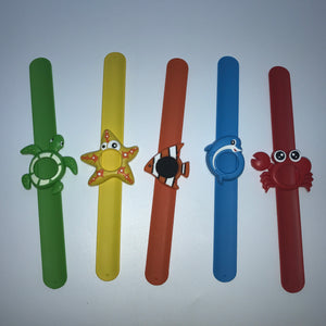 ~Aroma Under The Sea™ Fun Essential Oil Diffuser Slap Bracelet