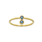 Bague Thelma Topaze Blue London-Euclide- laboutique.emma-chloe