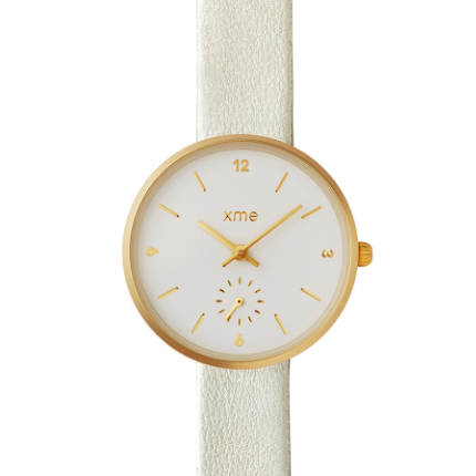 Montre Poppy Champagne-XME- laboutique.emma-chloe