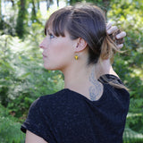 Boucles d'Oreilles SUNSET Jaune-A.MOOD.Z- laboutique.emma-chloe