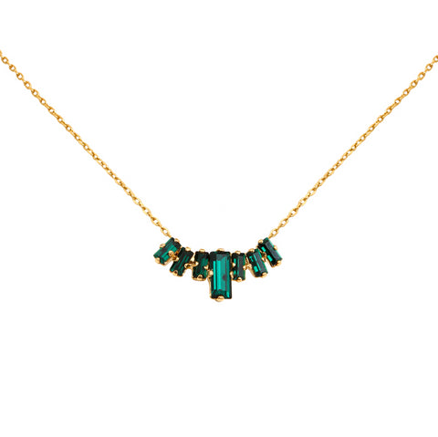 Collier Dallas Emerald