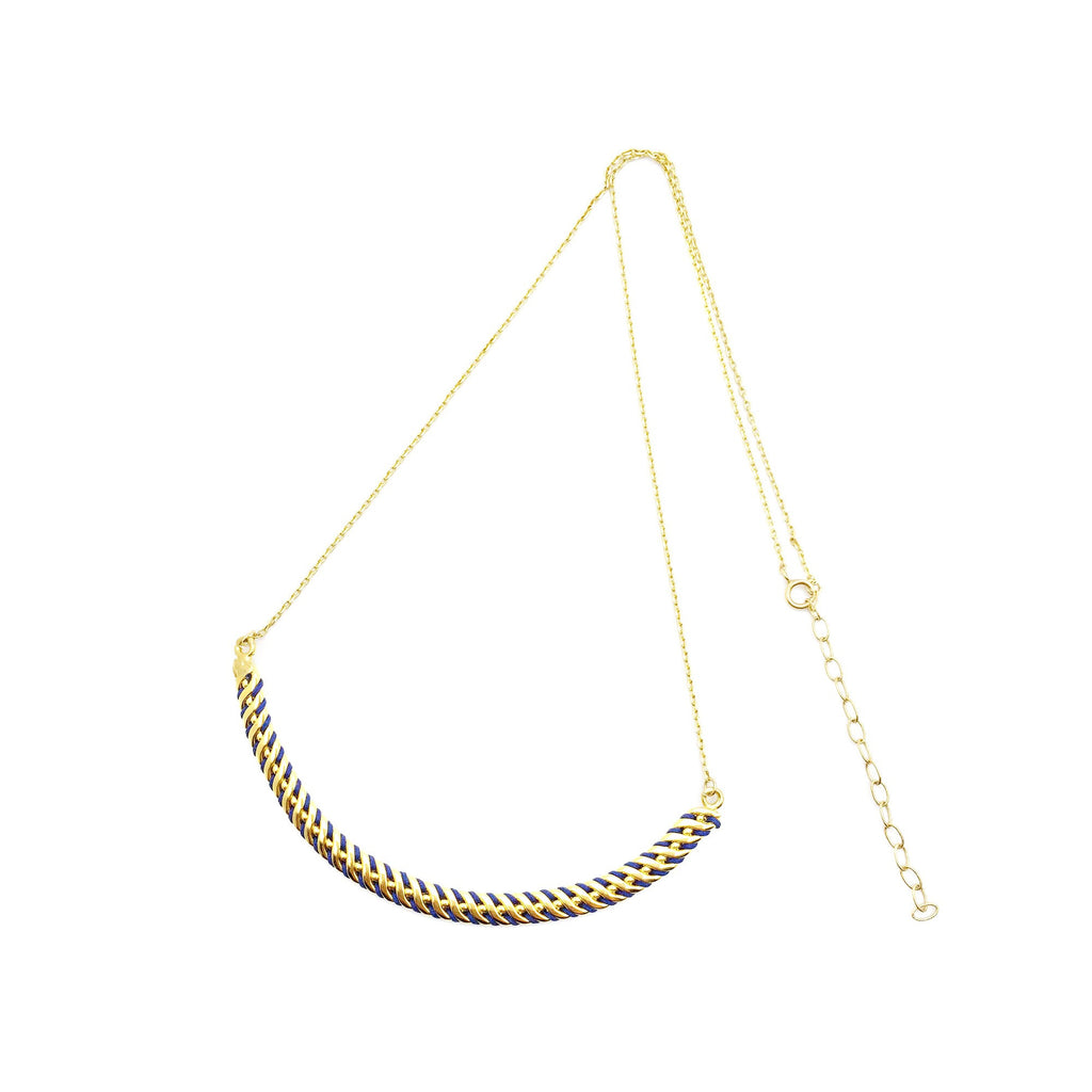 Collier Jucar Marine & Or