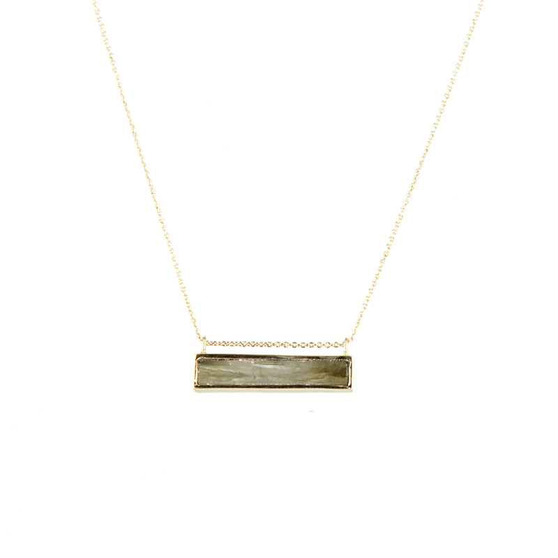 Collier Labradorite Rectangle-Room Service- laboutique.emma-chloe
