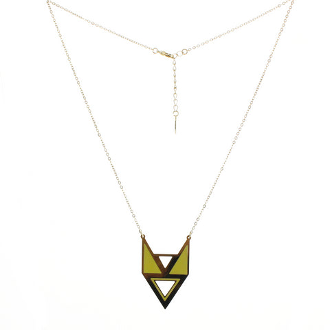 Collier Naples Jaune
