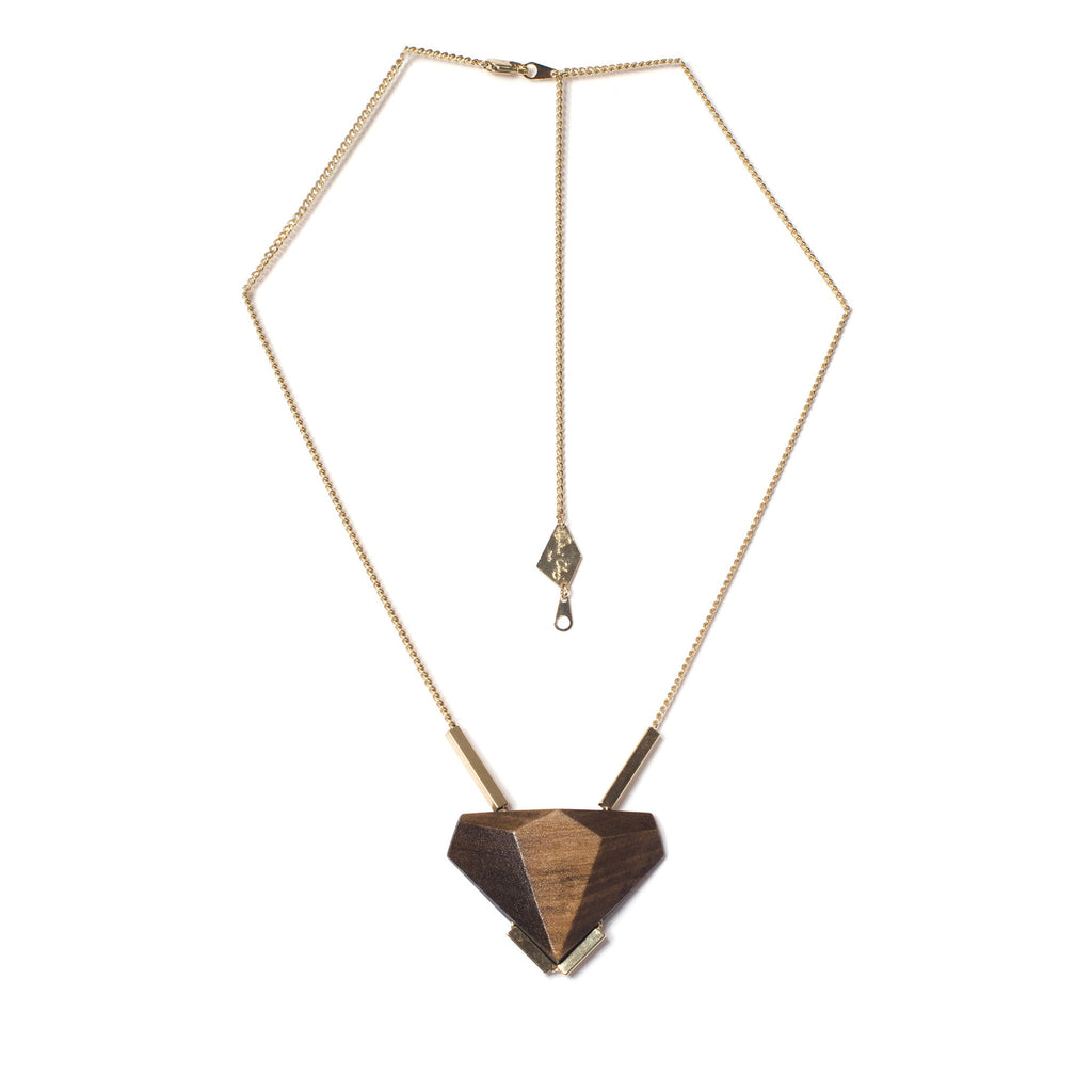Collier Uren Gris et Champagne-Salomé Charly- laboutique.emma-chloe