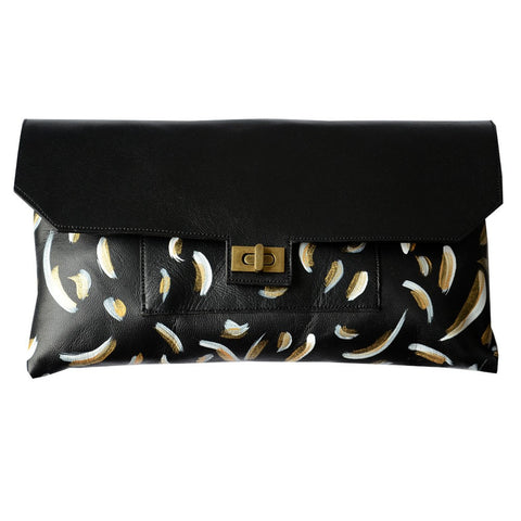 Pochette Cuir Goldie-Mallow- laboutique.emma-chloe