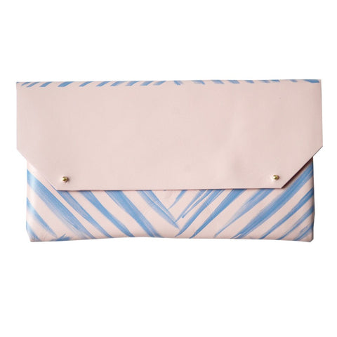Pochette Cuir The Stripes