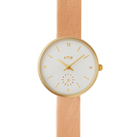 Montre Poppy Saumon-XME- laboutique.emma-chloe
