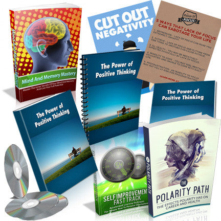 Anxiety, Depression, Panic Attacks Defeat for Success Bundle