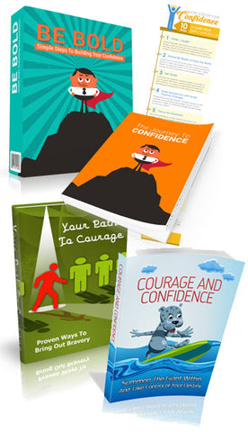 Courage and Confidence to Success BUNDLE