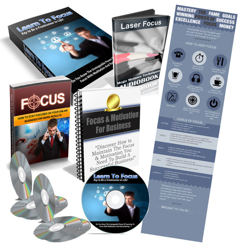 Focus for Success Bundle