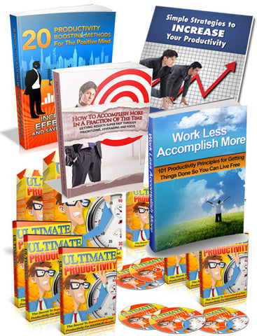 Productivity for Success Bundle