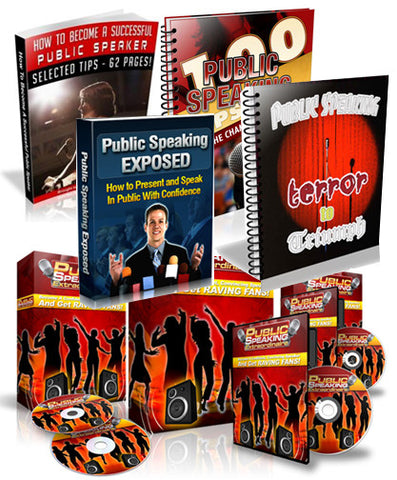 Public Speaking for Success Bundle