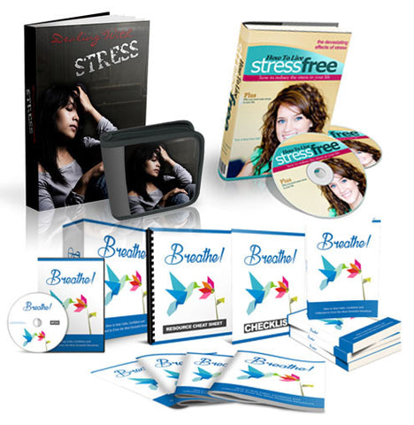 Stress & Anxiety Conquering Successfully BUNDLE