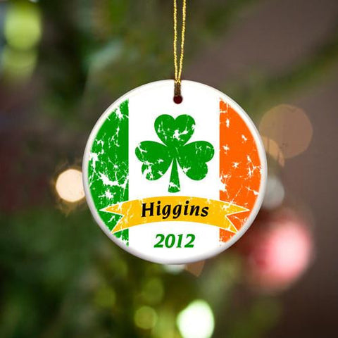 Irish Ceramic Ornaments
