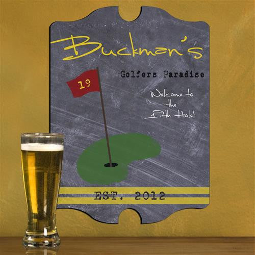 Vintage Sports Man Cave Pub and Tavern Signs - TGOLF