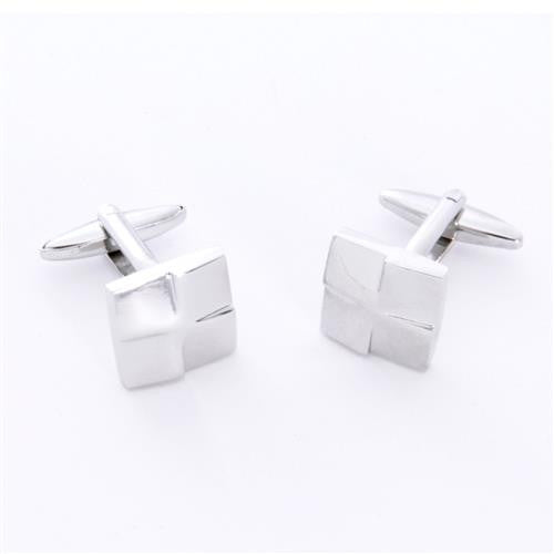 Dashing Cuff Links with Personalized Case  - SILSQUARE