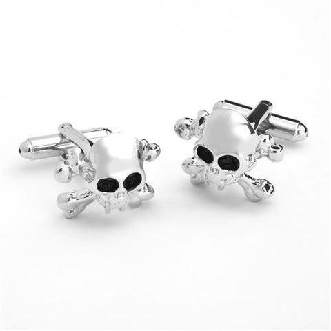 Dashing Cuff Links with Personalized Case  - SKULLXBONE