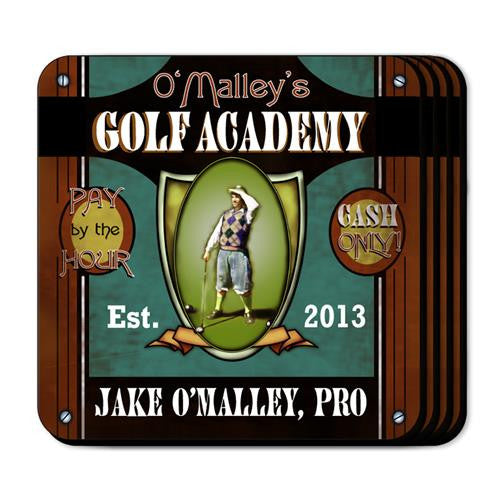 Coaster Set  - GOLF ACAD