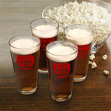 Personalized Pub Pint Glass Set  - Pub