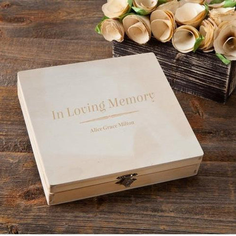 Memorial Keepsake Box