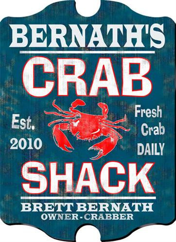 Vintage Series Personalized Signs  - CRABSHACK