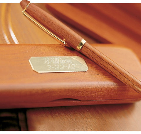 Rosewood Pen & Case