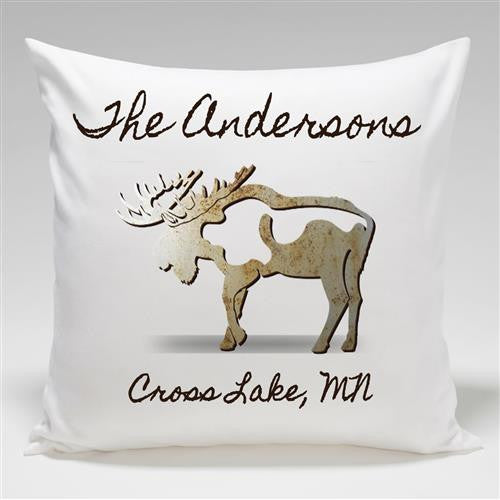 Cabin Series Throw Pillow