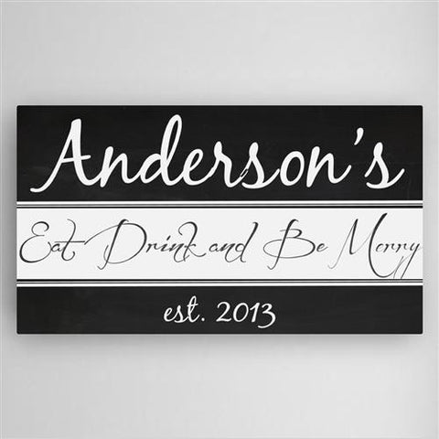 Kitchen Canvas Sign