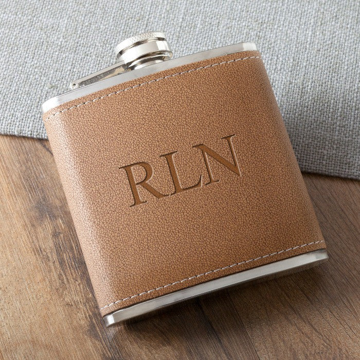 6 oz. Leather Hide Flask