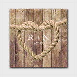 Knot Canvas Signs