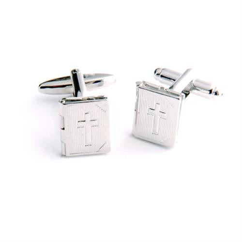 Dashing Cuff Links with Personalized Case  - BIBLE
