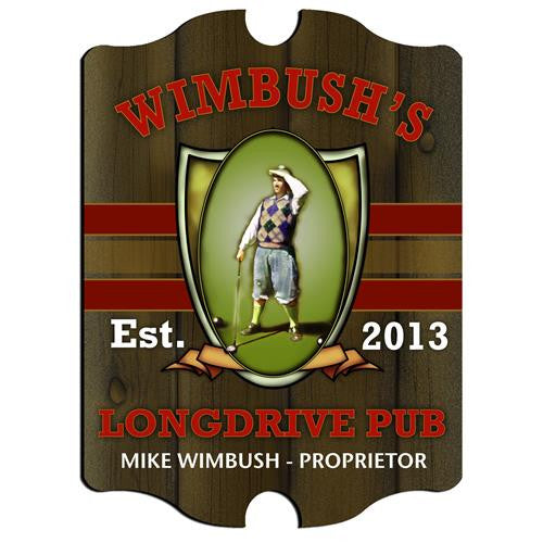Vintage Series Personalized Signs  - LONGDRIVE