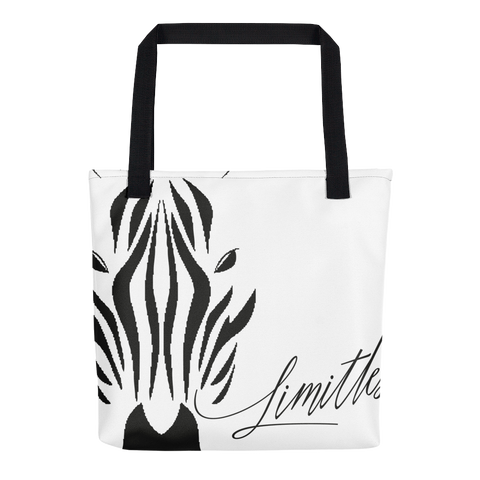 Black and White Zebra :: Tote Bag
