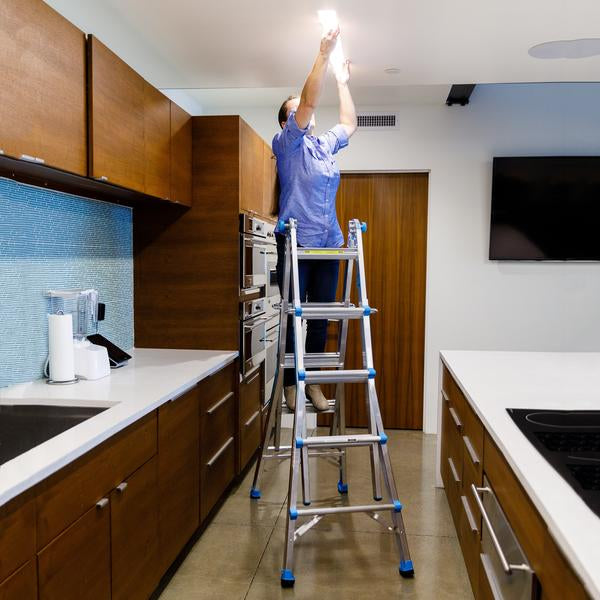 10 Projects To Do Around The House This Fall That Require A Ladder