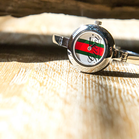 Check out this watch with the Iconic Gucci branding and others from Gucci here.