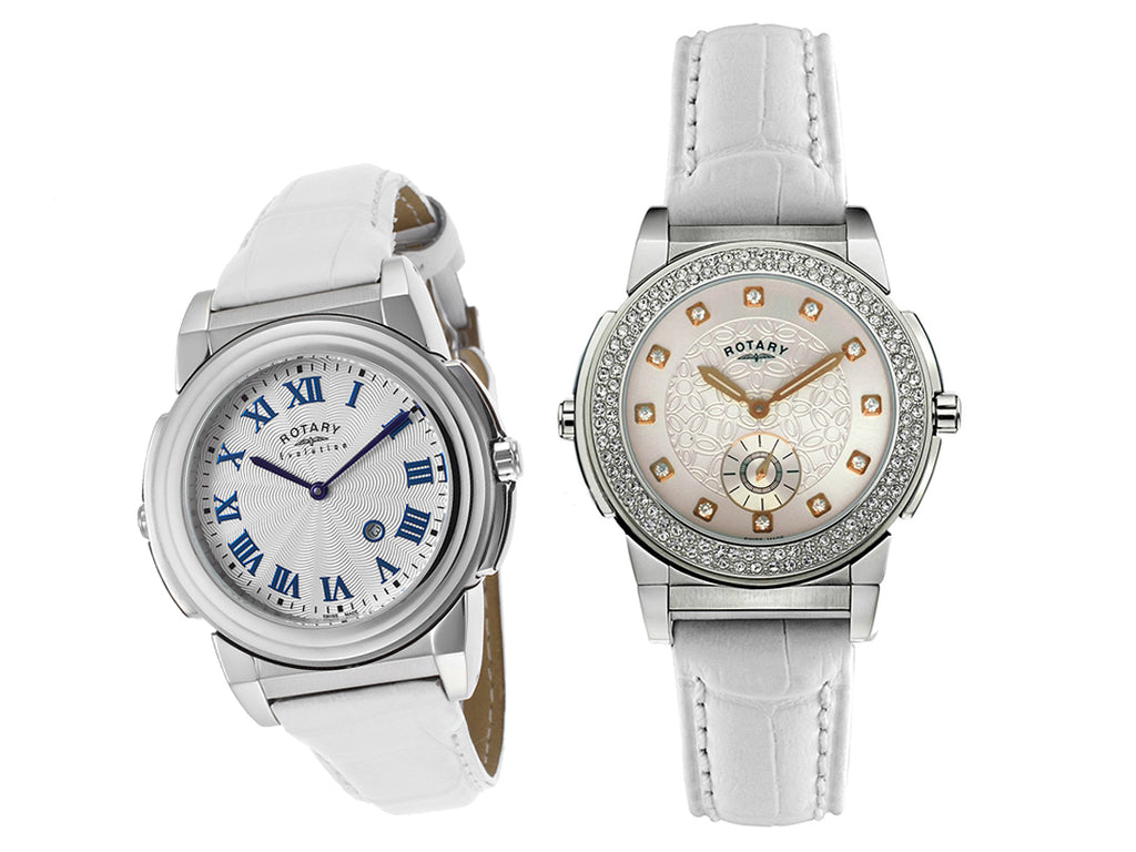 Rotary 0012/TZ2/06/21 Women's Crystal Two Face Watch