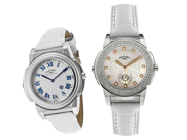 Rotary 0012/TZ2/06/21 Women's Crystal Two Face Watch - Dealsie.com Love the Deals