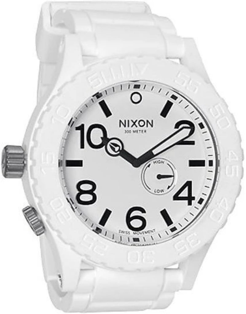 Nixon A236100 51-30 White Rubber Men's Watch