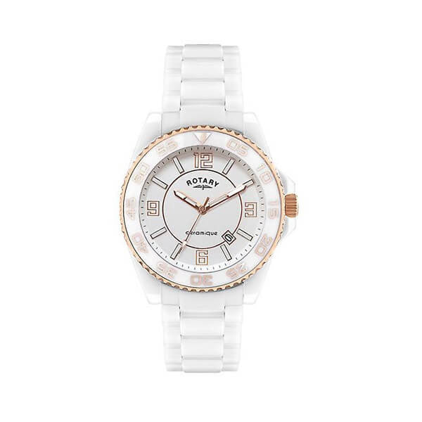 Rotary CEWBG/18 Women's Ceramic White Watch - Dealsie.com Love the Deals
