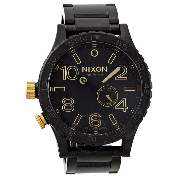 Nixon A0571041-00 51-30 Tide Black Tide Stainless Steel Men's Watch